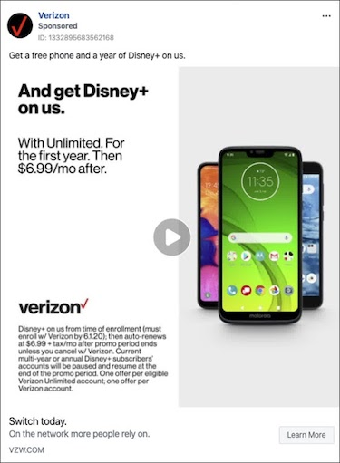 voice of the customer Verizon example