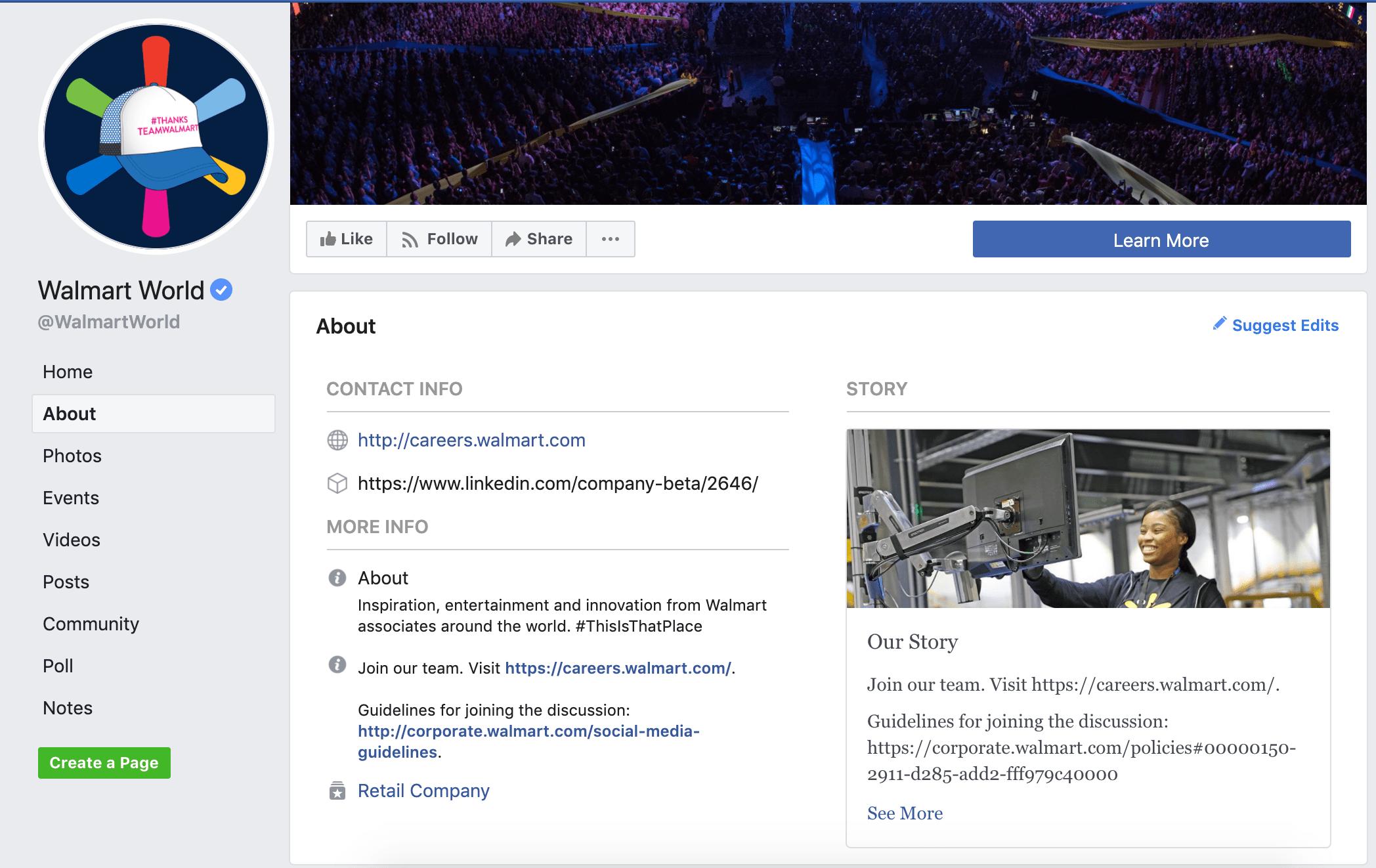 walmart facebook