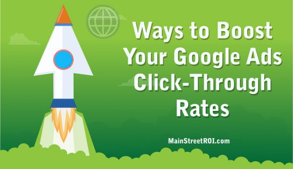 Ways to Boost Your Google Ads Click-Through Rates