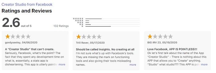 Facebook Creator Studio in the App Store