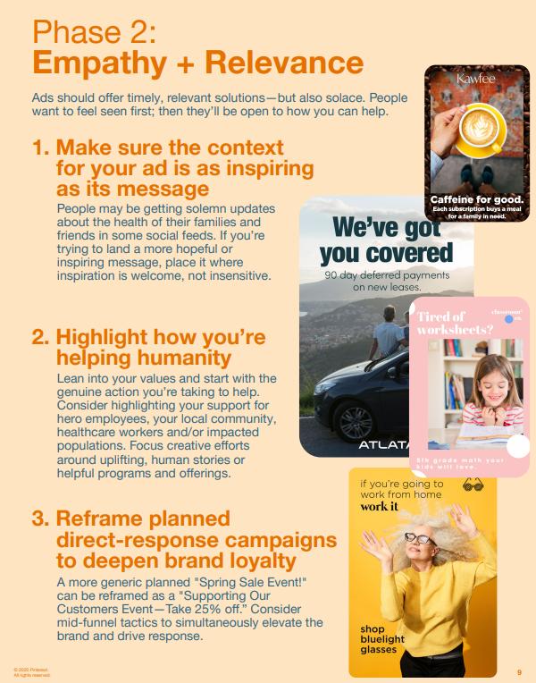 Pinterest COVID-19 guide