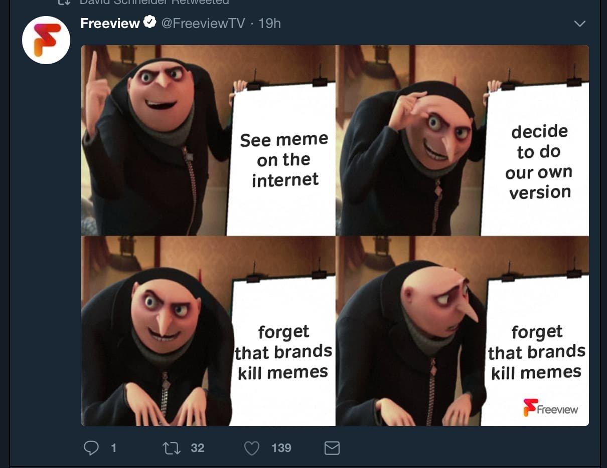 Snackable content example meme 2