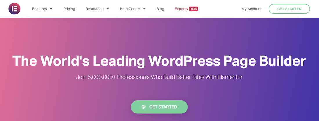 Elementor landing page software review