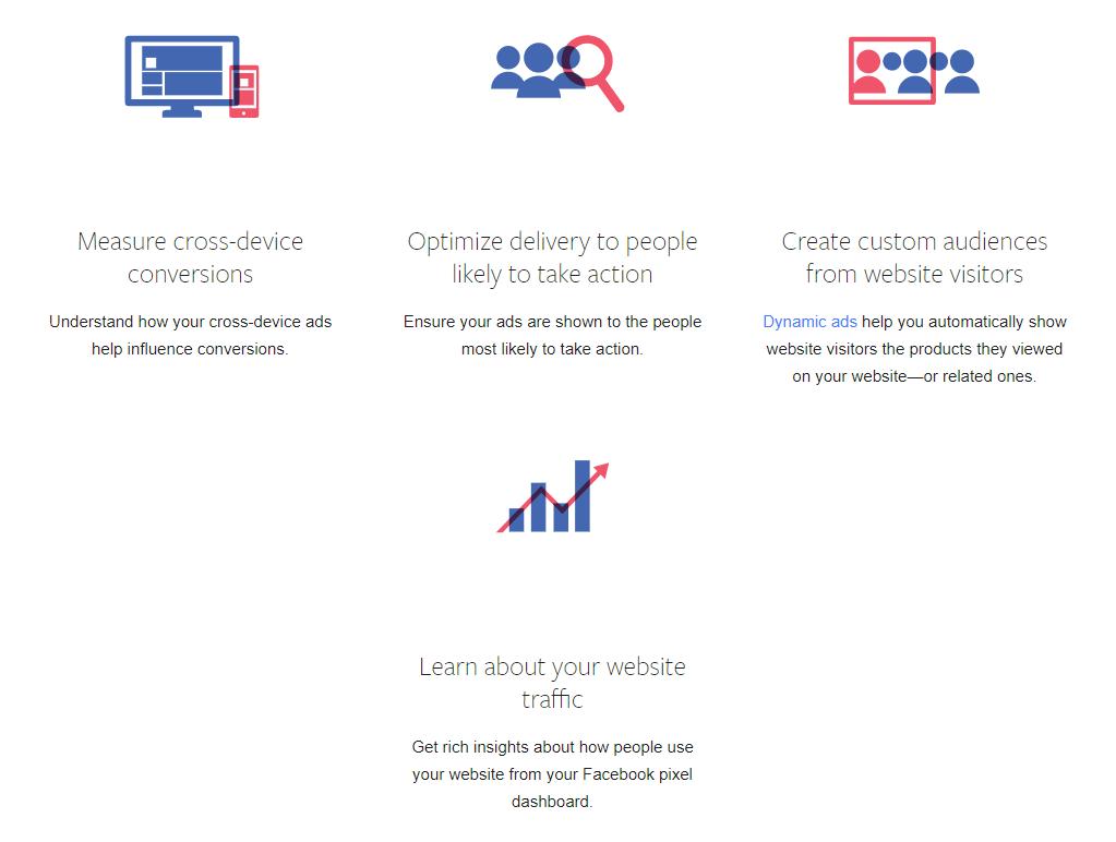 Facebook pixel ad tracking benefits