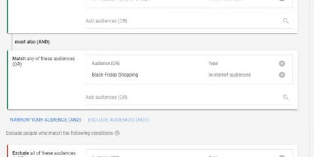 Google Quietly Rolls Out Combined Audience Targeting for Search Campaigns via @shepzirnheld