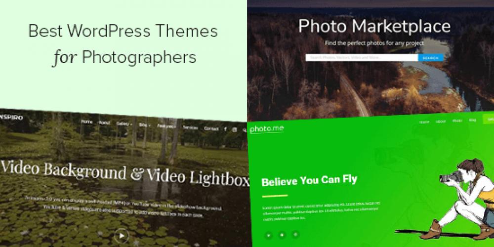 25 Best WordPress Themes for Photographers (2020)