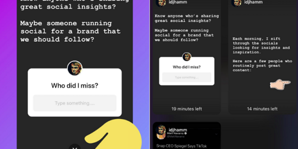Instagram's Adding a New Way to Find and Share Stories that Mention Your Profile