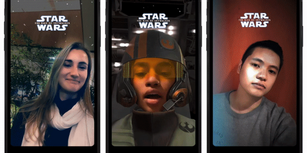 Facebook Adds New Star Wars-Themed Features to Messenger