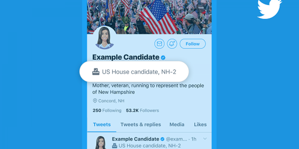 Twitter Adds Updated Candidate Profile Labels for 2020 US Election Period