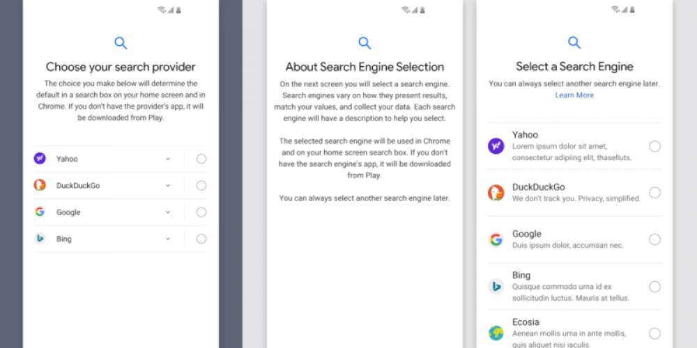 DuckDuckGo has other ideas for Google's EU search choice screen