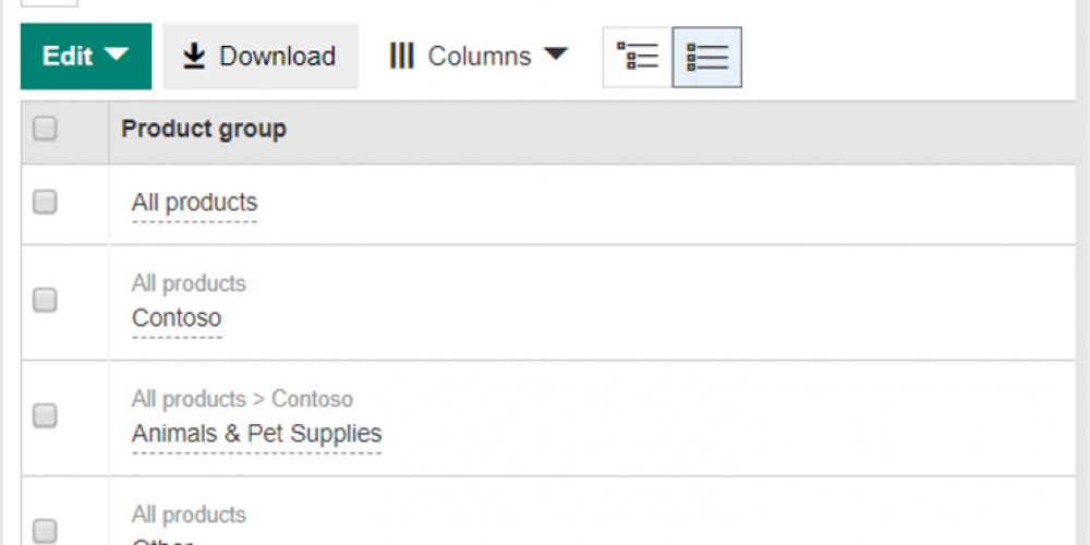 Filter, sort, bulk manage product groups in Microsoft Shopping soon