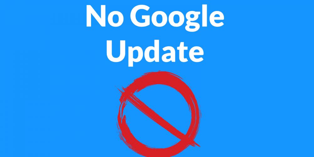 Google Confirms: No Core Update via @martinibuster
