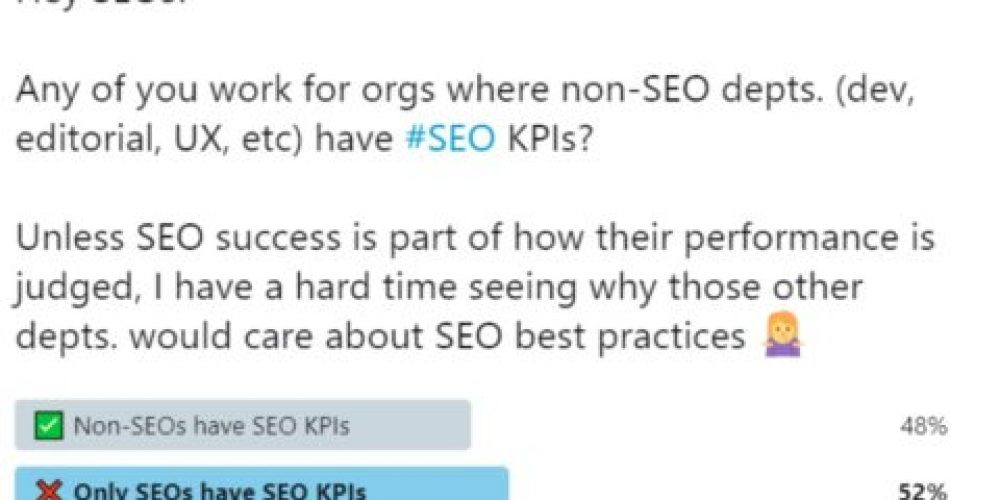SEO Is Everyone's Responsibility: 5 Tips to Get Non-SEOs Bought Into SEO via @Kammie_Jenkins