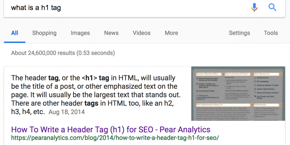 How to Use Header Tags: SEO Best Practices via @amelioratethis