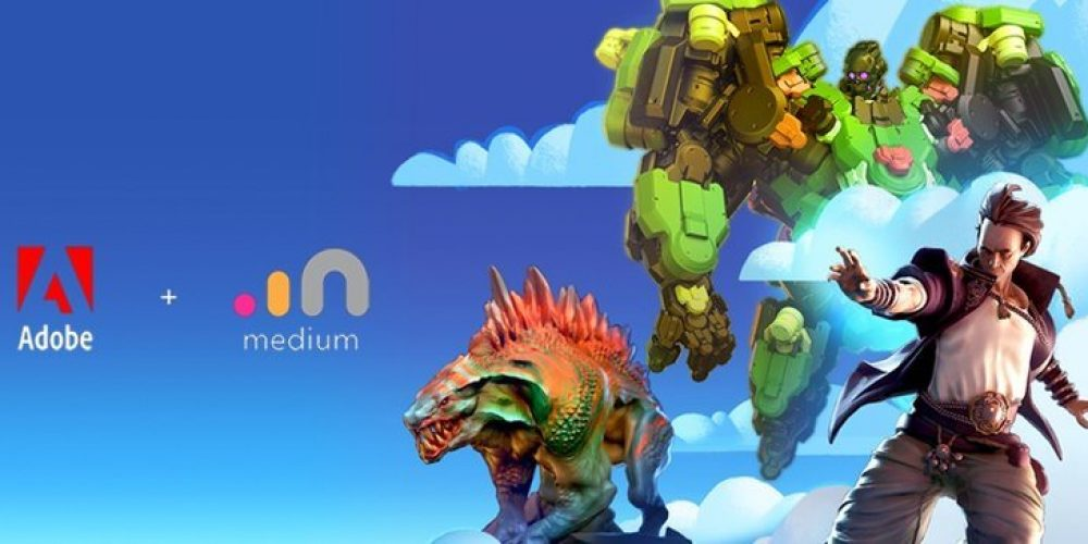 Adobe Acquires 3D, VR Creation Tool 'Medium' from Facebook-Owned Oculus