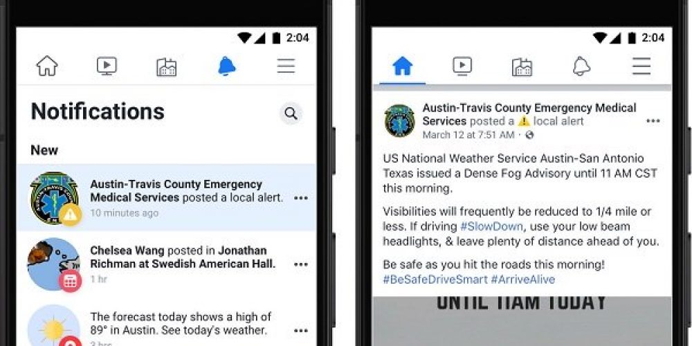 Facebook Expands Access to Local Alerts in Order to Help Communicate COVID-19 Updates