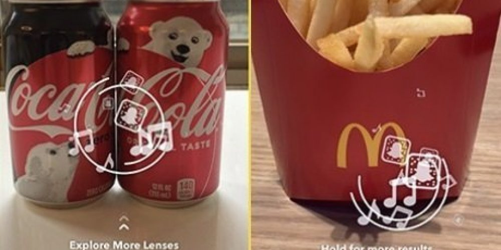 Snapchat Tests New Image Recognition-Triggered Ads with Popular Brand Logos