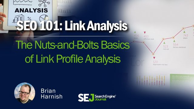 The Basics of Link Profile Analysis via @BrianHarnish