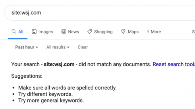 Google confirmed indexing issues causing some stale results