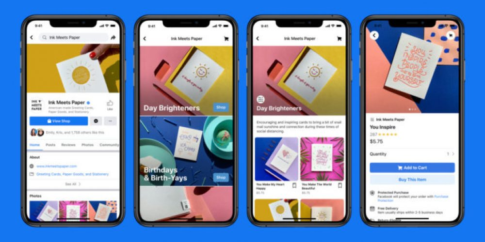 Facebook & Instagram Let Businesses Sell Products Directly on Their Page via @MattGSouthern