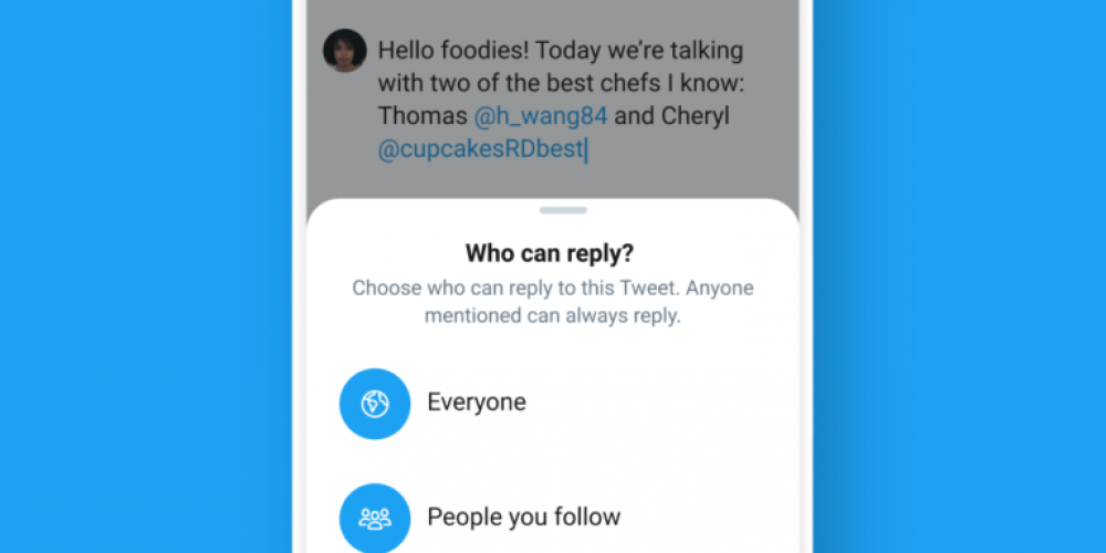 Twitter to Let Users Choose Who Can Reply to Tweets via @MattGSouthern