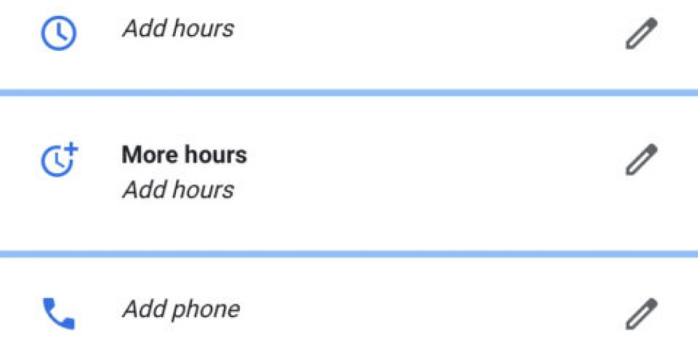 Google My Business Update: Add More Hours for Specific Services via @MattGSouthern