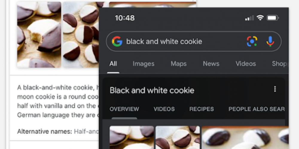 Google App Updated With Dark Mode for iOS and Android via @MattGSouthern