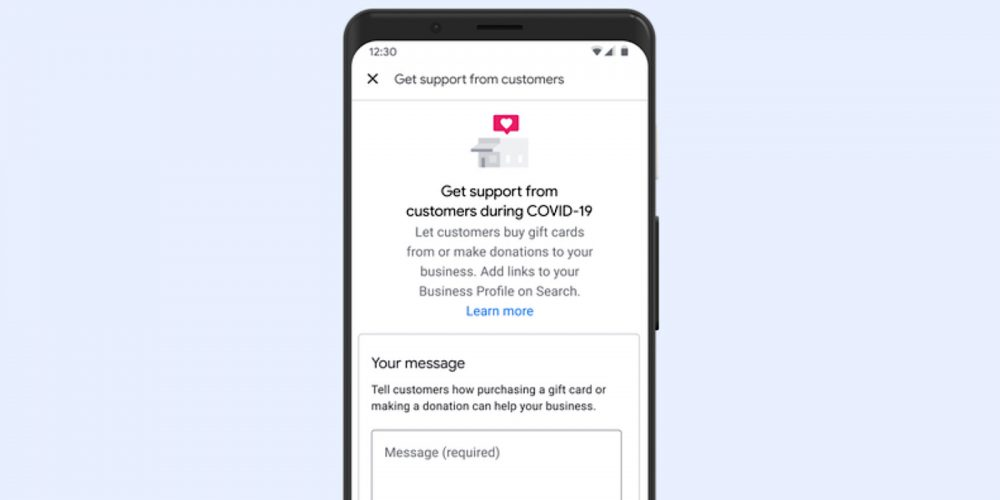 Google My Business Listings Can Link to Gift Card & Donation Pages via @MattGSouthern