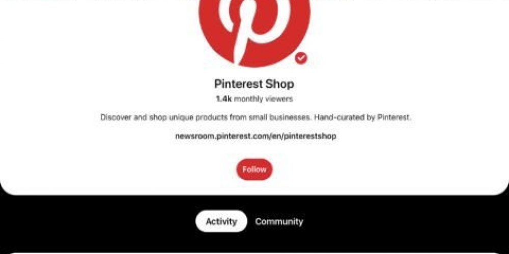 Pinterest Launches a New Home Dedicated to Small Business Shopping via @MattGSouthern