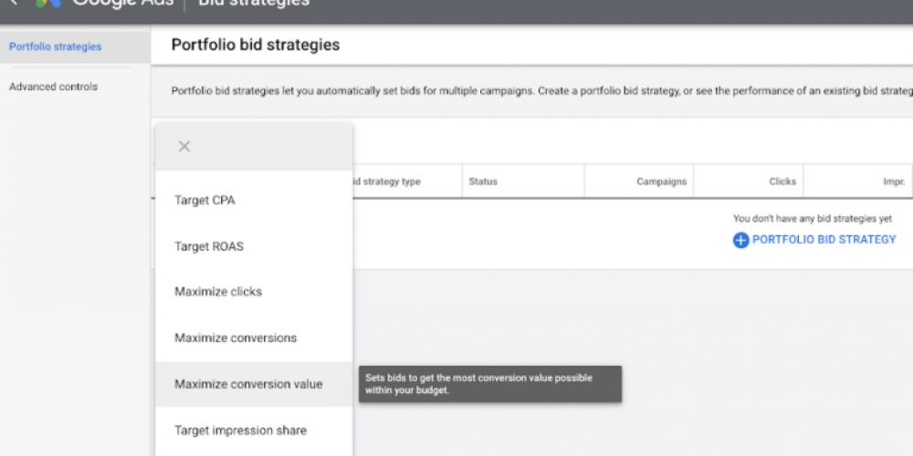 Google Ads Expands Portfolio Bid Strategies With More Options via @MattGSouthern
