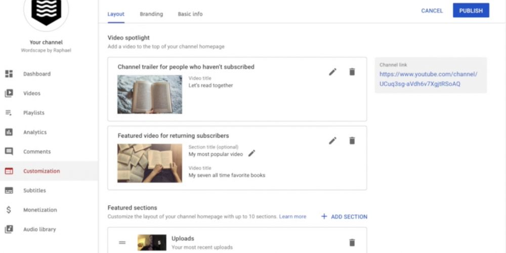 YouTube to Let Creators Customize the Look & Feel of Their Channels via @MattGSouthern