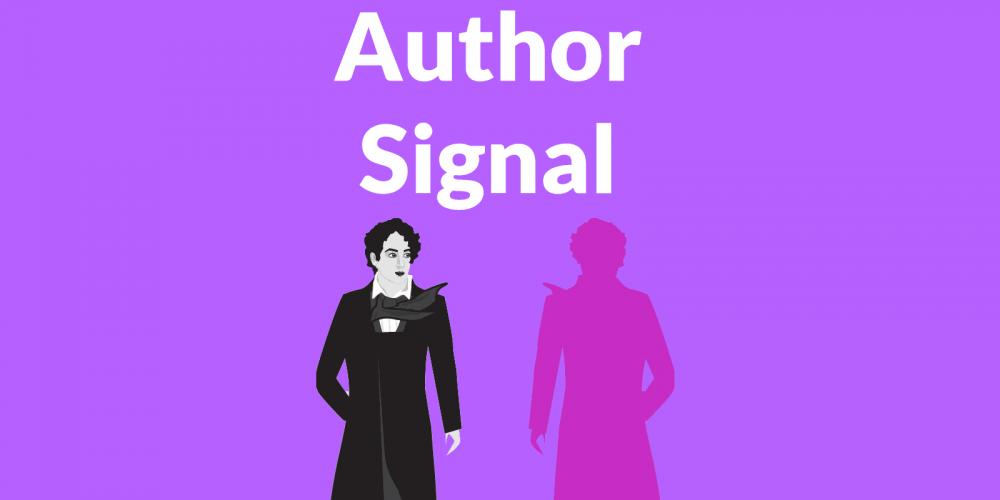 Author Bio Signal for Content via @martinibuster