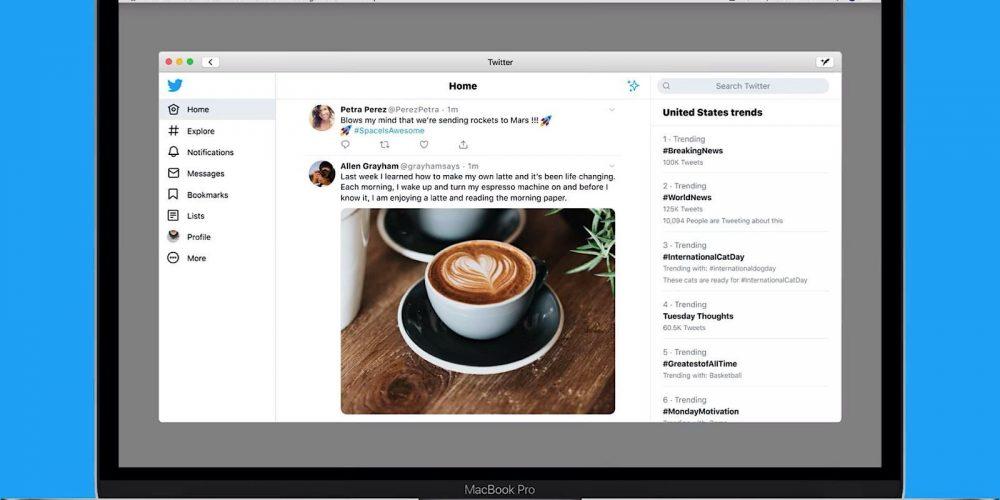 Twitter's Mac App is Back via @MattGSouthern