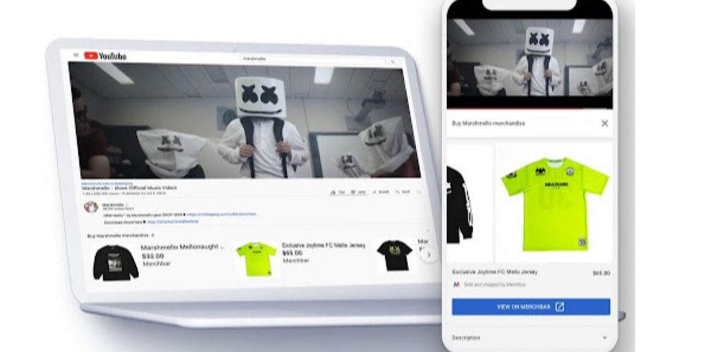 YouTube to Sell Artists' Merchandise Underneath Videos via @MattGSouthern