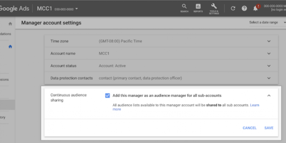 Google Ads Makes it Easy to Share Audience Lists Across Accounts via @MattGSouthern
