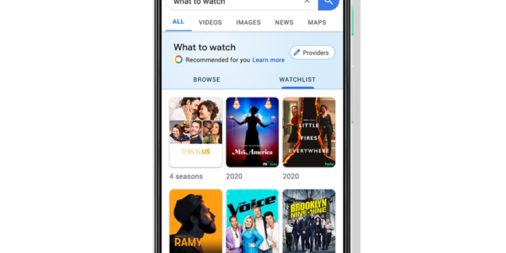 Google Search Adds Feature For Keeping Track of Movies & Shows to Watch via @MattGSouthern