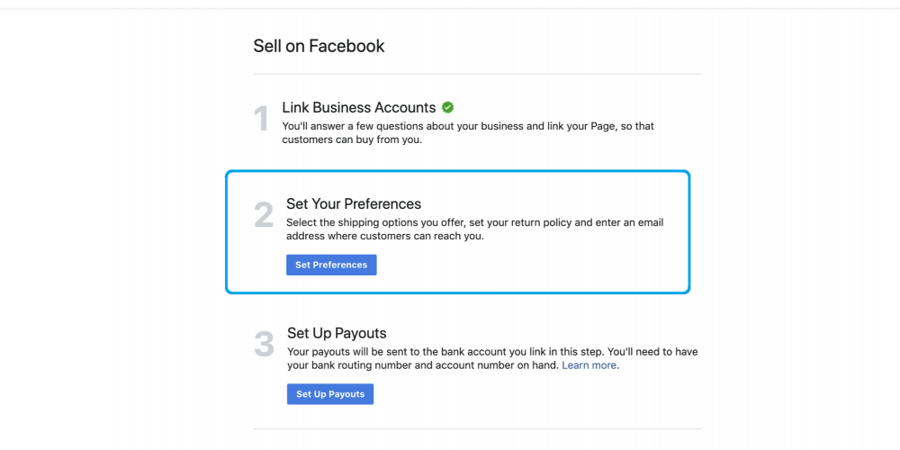 Facebook Marketplace is open for businesses selling new products