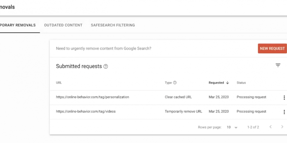 Google Explains How to Use the Removals Tool in Search Console to Hide Content via @MattGSouthern