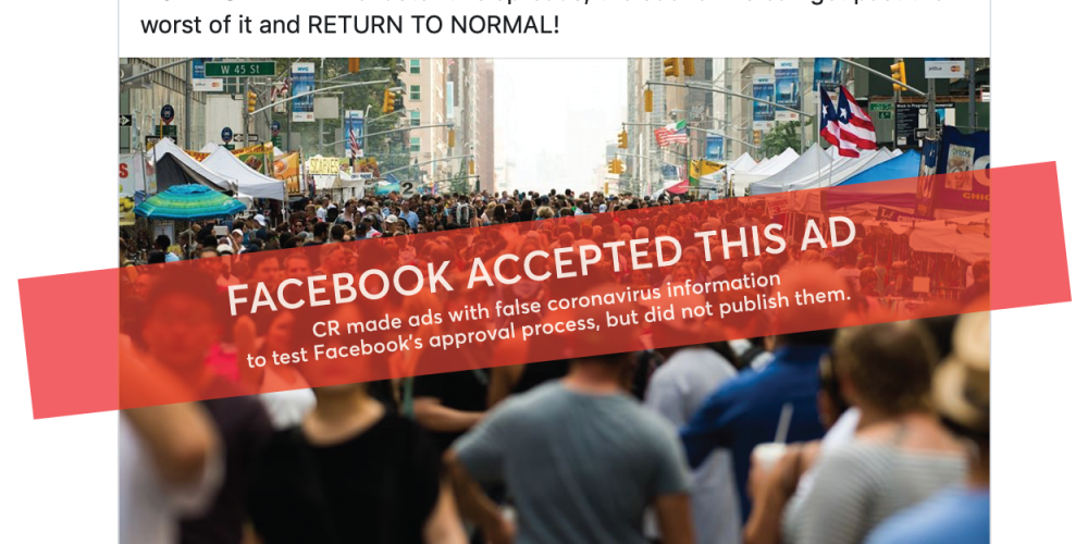 Facebook Ads Fails to Reject COVID-19 Misinformation via @SusanEDub