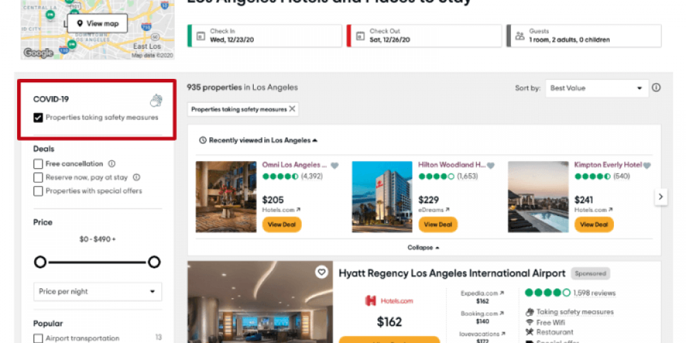 TripAdvisor, Yelp and others highlight venue safety, an emerging consumer decision factor