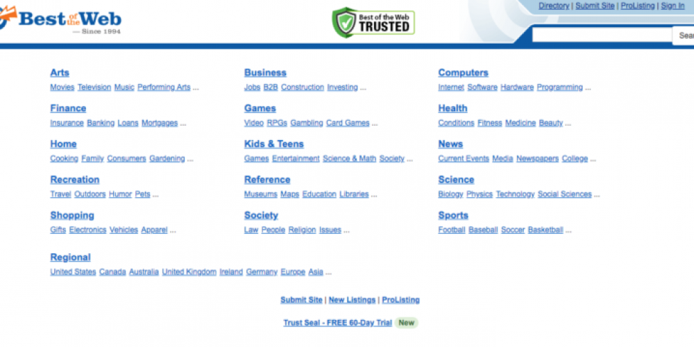 21 Web Directories That Still Have Value via @amelioratethis