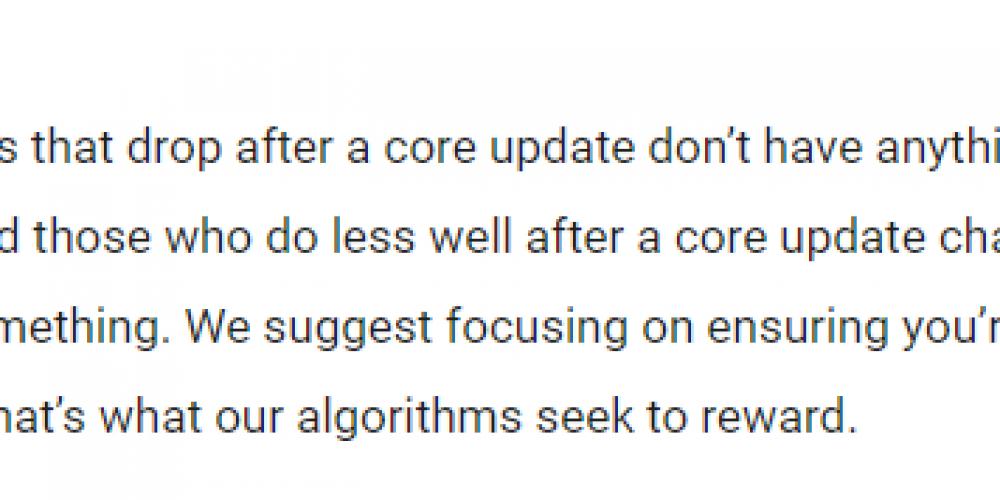 How to Write for Google's Core Algorithms, User Intent & SEO via @JuliaEMcCoy