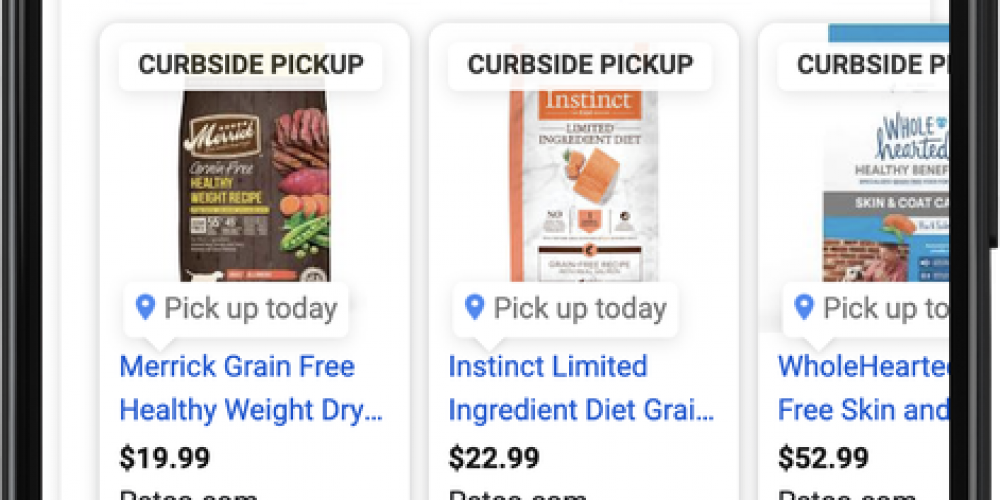 Google Ads Beta Testing Curbside Feature Pickup in Shopping via @SusanEDub