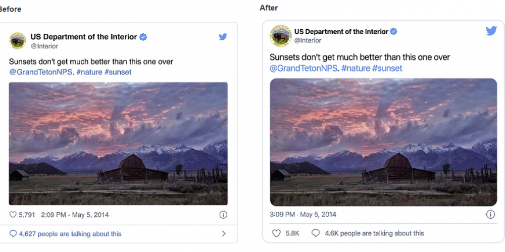 Twitter Updates Tweet Embeds, Including New Presentation Style