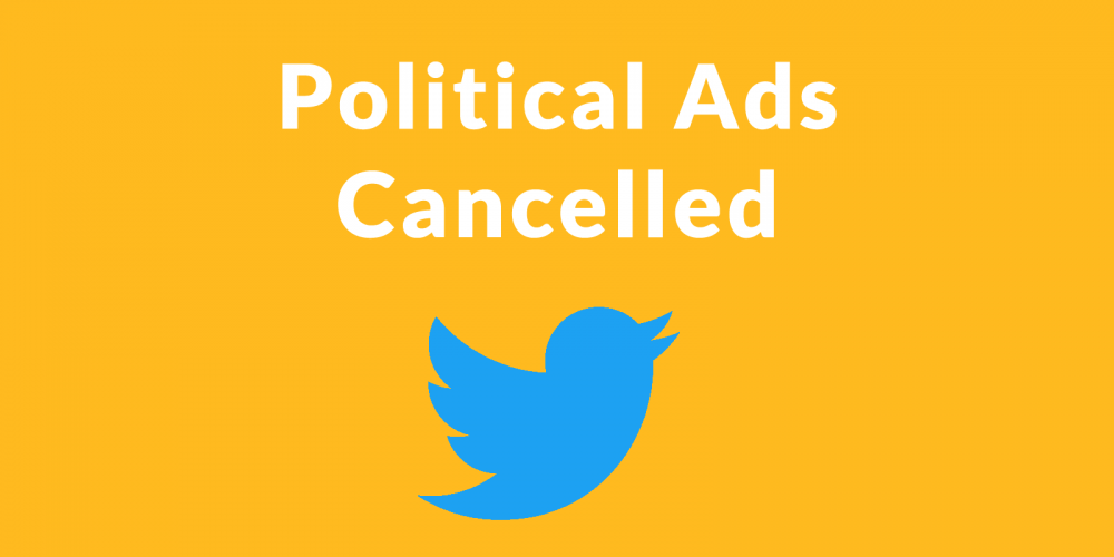 Twitter Cancels Political Advertising via @martinibuster