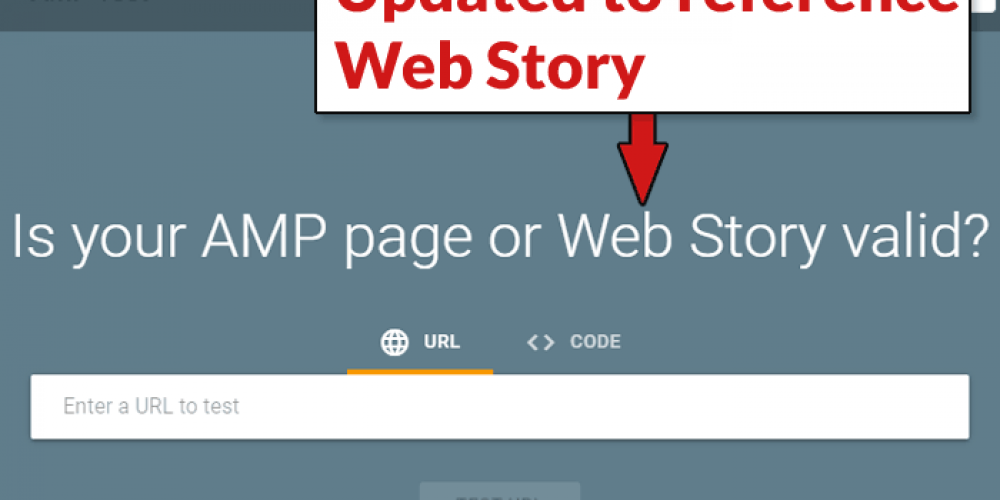 Google Updates AMP Validation Tool to Support Web Story via @martinibuster