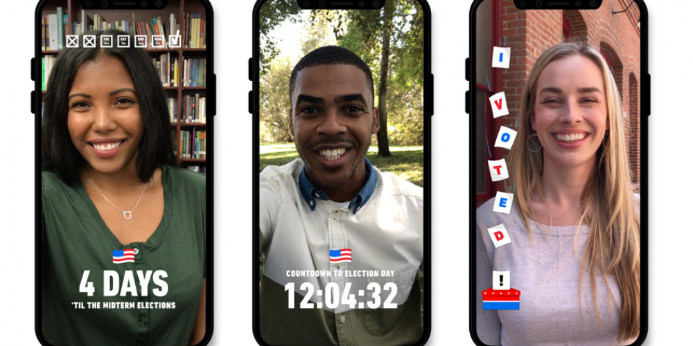 Data Shows Snapchat is Highly Influential in Getting Younger People to Vote