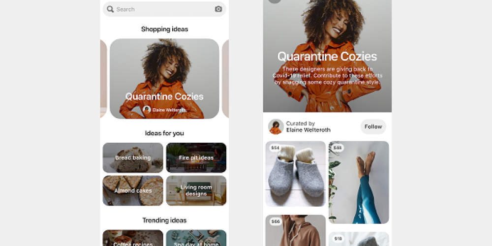 Pinterest Adds New 'Shopping Spotlights' to Highlight Product Recommendations from Fashion Influencers