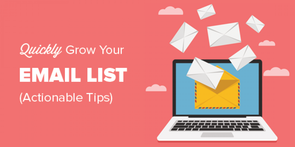 17 Tested and Easy Ways to Grow Your Email List Faster