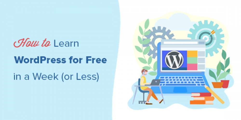 How to Learn WordPress for Free in a Week (or Less)
